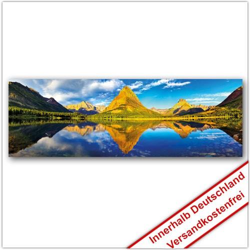 Leinwanddruck - Motive: Bergsee 002