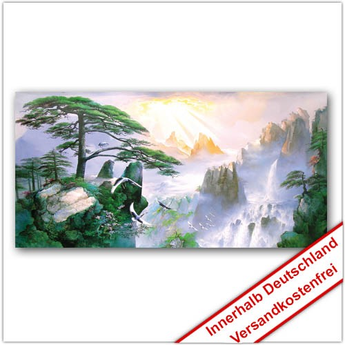Leinwanddruck - Motive: Gebirge 002