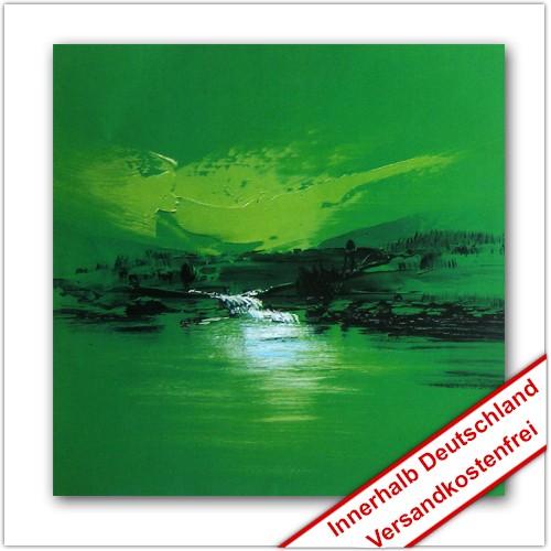 Leinwanddruck Motiv: Grüne Landschaft