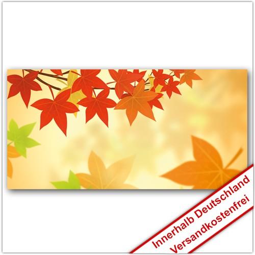Leinwanddruck - Motive: Herbst Laub