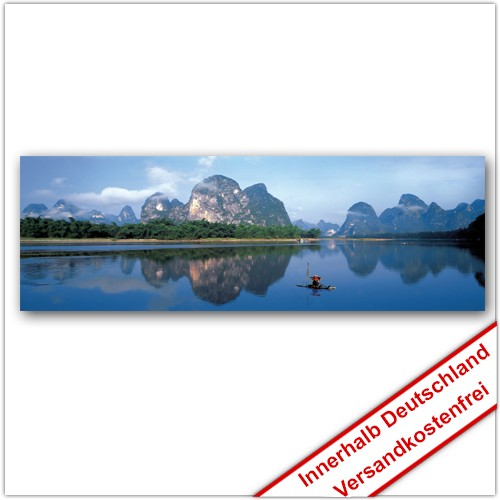 Leinwanddruck - Motive: Li Jiang Fluss - China