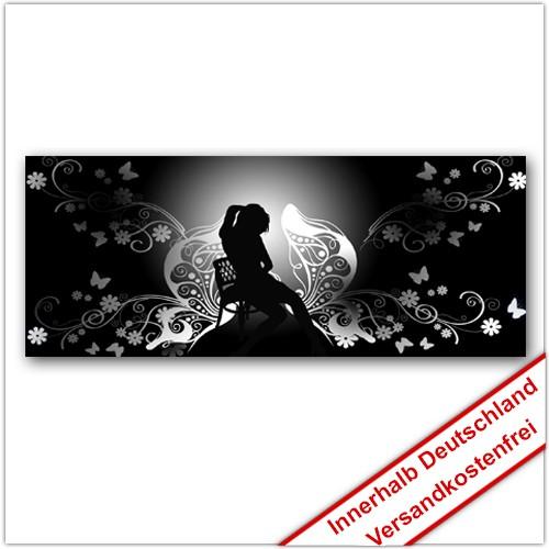 Leinwanddruck - Motive: Schattenfrau
