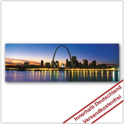 Leinwanddruck - Motive: Skyline Saint Louis