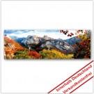 Leinwanddruck - Motive: Herbst Gebirge
