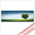 Leinwanddruck - Motive: Herz Baum
