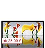 Leinwanddruck Motiv - Blüten 001