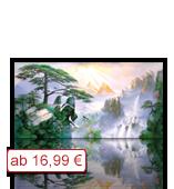Leinwanddruck Motiv - Gebirge 002