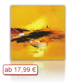 Leinwanddruck Motiv - Gelbe Landschaft