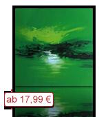 Leinwanddruck Motiv - Grüne Landschaft