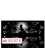 Leinwanddruck Motiv - Schattenfrau - 3 Teiler