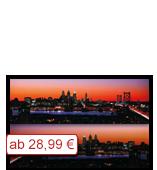 Leinwanddruck Motiv - Skyline Philadelphia